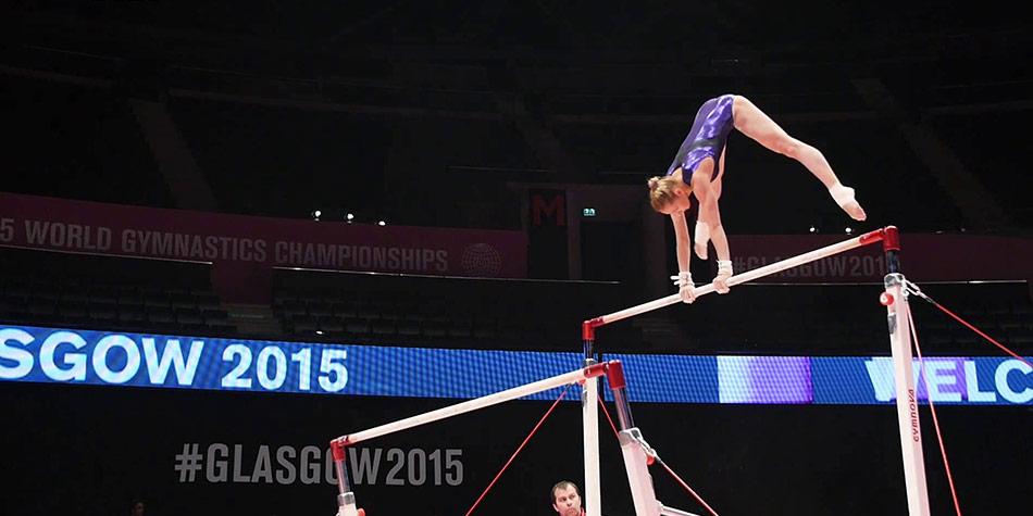 Viktoria Komova (RUS) Trains Uneven Bars | Inside Gymnastics