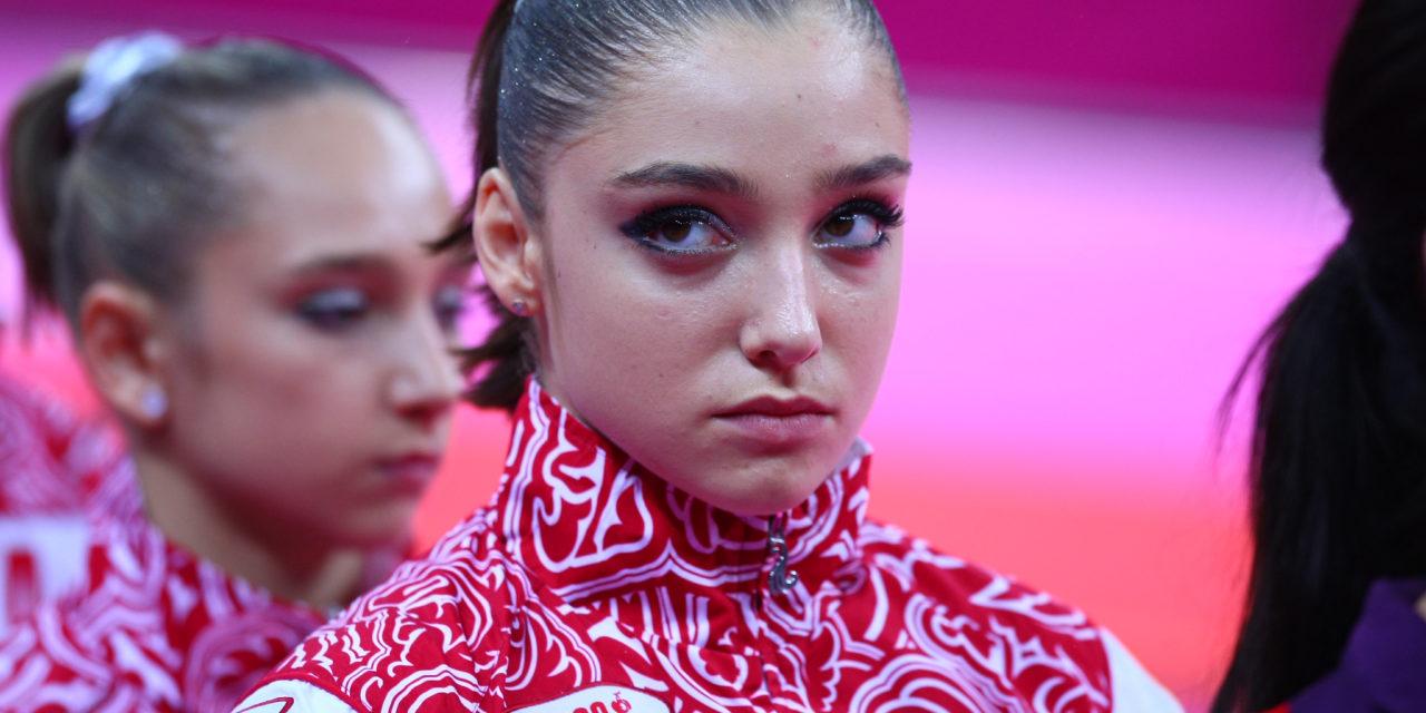 Report: Mustafina returning to gymnastics after giving birth