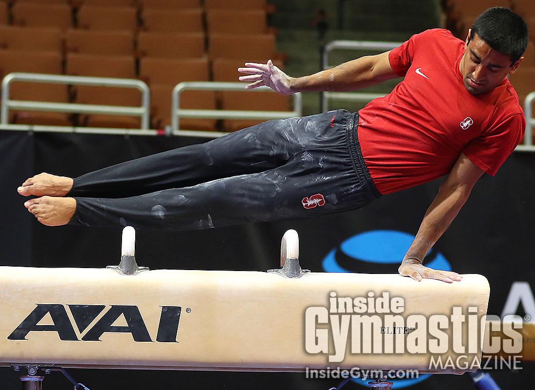 Senior Men S Podium Training Inside Gymnastics Magazine