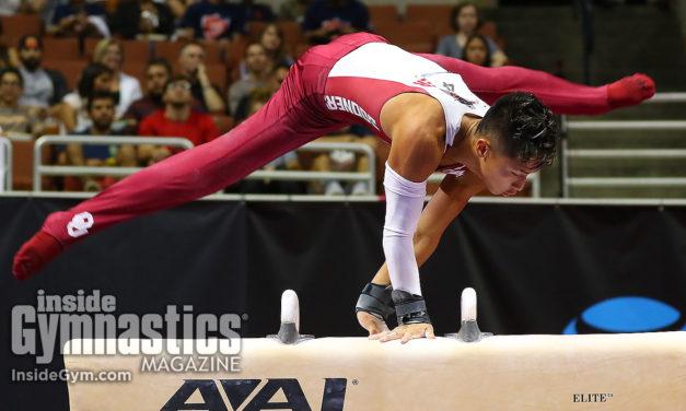 2017 P&G Championships: Moldauer falls, still secures men's title
