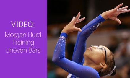 VIDEO: Morgan Hurd (USA), Uneven Bars Training, 2017 Gymnastics World Championships