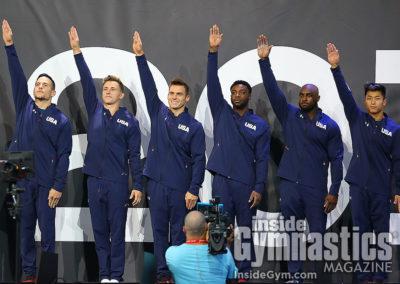 USA Men's Team enter