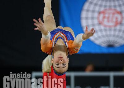 Eythora Thorsdottir (NED) at the 2017 Artistic Gymnastics World Championships.