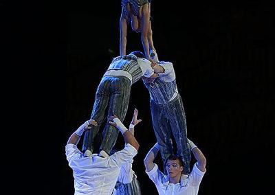 Cirque du Soleil performance