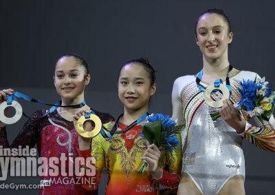 Uneven Bars Medalists