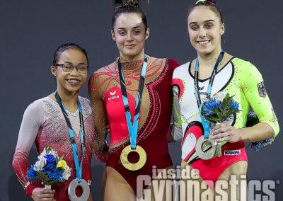 Beam Medalists