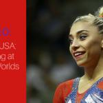 Team USA: Training at the 2017 Gymnastics World Championships