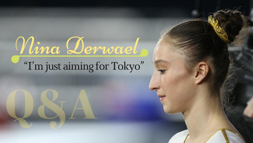 "Nina Derwael: ""I'm just aiming for Tokyo"""