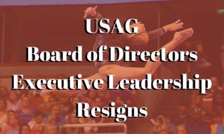 PRESS RELEASE: USA Gymnastics statement regarding Board of Directors Executive Leadership