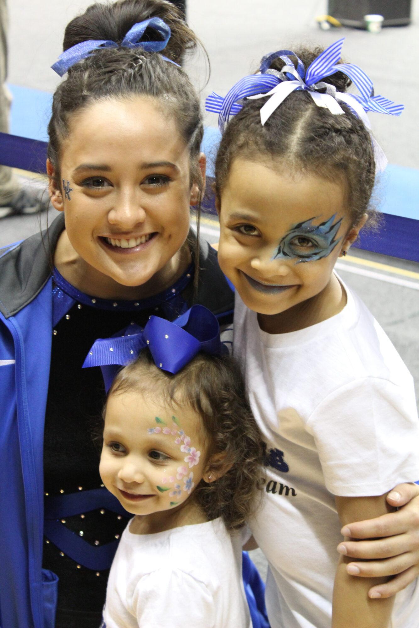 Kentucky vs. Missouri - Katie Stuart and the Long sisters.