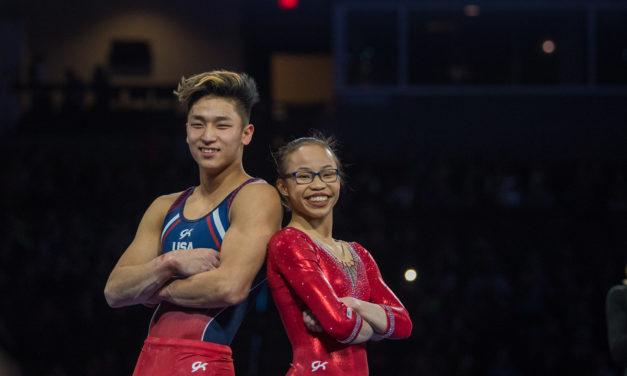 Hurd, Moldauer Shine at 2018 American Cup