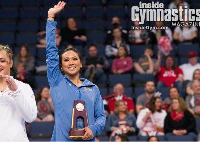 Peng-Peng Lee, 2018 NCAA Women's Gymnastics Championships