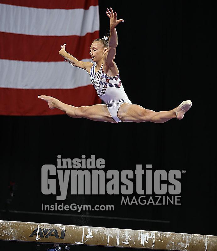 2018 U.S. Championships – Senior Women Podium Training ...