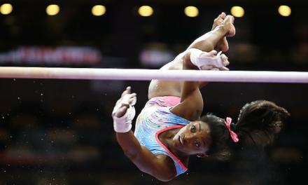 2018 U.S. Championships – Senior Women Podium Training