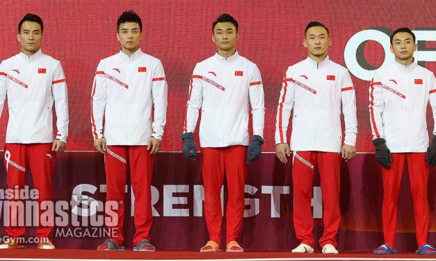 2018 World Championships – Men's Team Finals