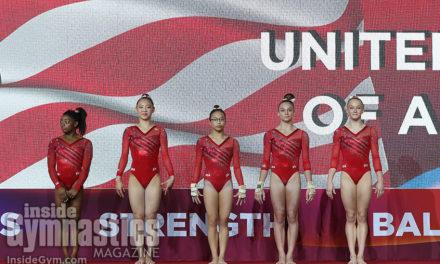 2018 World Championships – Women's Team Finals