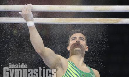 2019 World Championships – Men's Podium Training Day 1