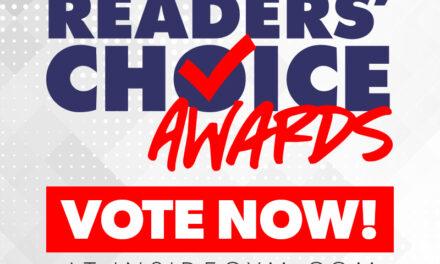 Annual Readers' Choice Awards – 2019!
