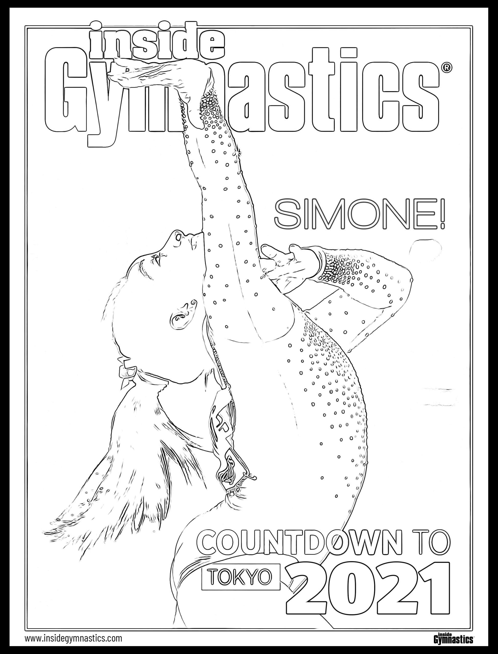 Color The Cover!   Inside Gymnastics Magazine