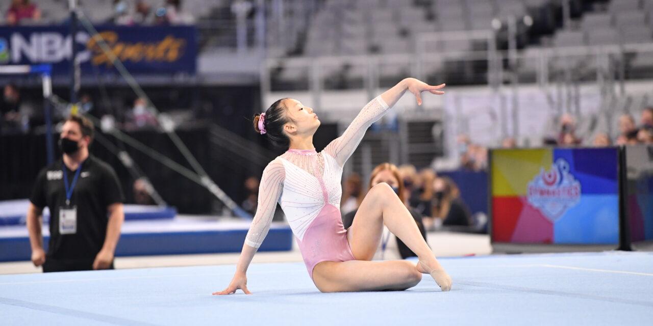 Katelyn Jong Captures Jr. National Title – 2021 U.S. Championships – Junior Women's Finals