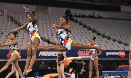 2021 U.S. Championships – Senior Women's Podium Training