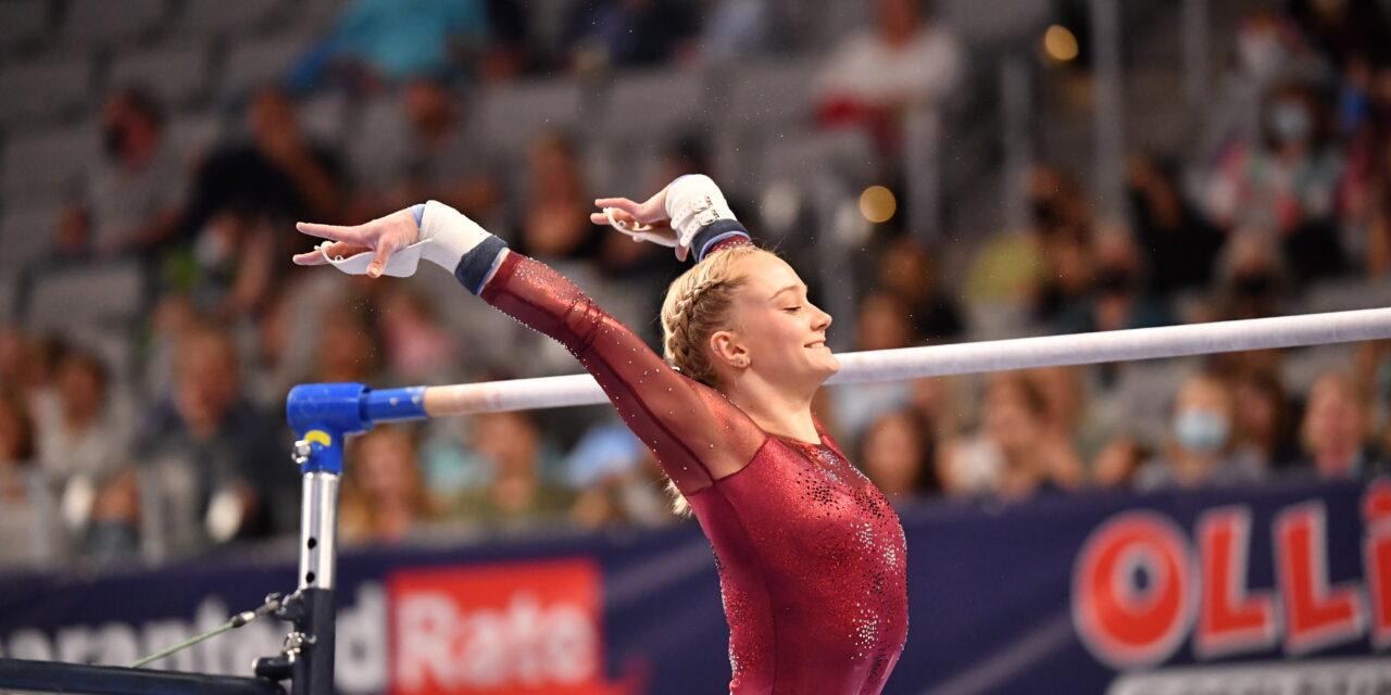 Biles Dominates Day 1, McCusker Shines – 2021 U.S. Championships – Senior Women's Prelims