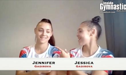 Stronger Together – Interview with Jessica and Jennifer Gadirova | Tokyo Olympics | Inside Gymnastics